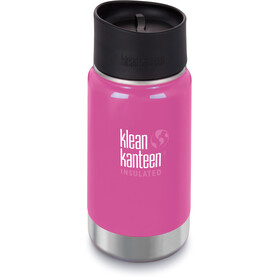 Klean Kanteen Wide Vacuum Insulated Drinkfles Café Cap 2.0 355ml roze